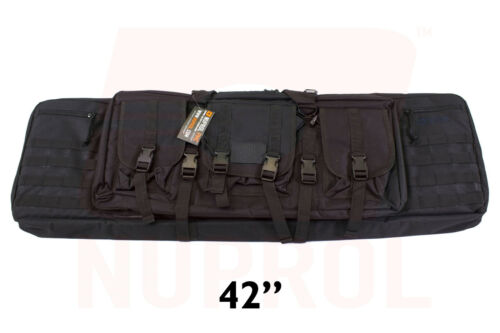 """Nuprol PMC Deluxe Soft Rifle Case Padded w// pockets /& molle 36/"""" /& 42/"""""""