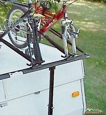 ProRac 2 Two Bike Bicycle Carrier Rack PopUp Tent Trailer Camper with Tire Pads