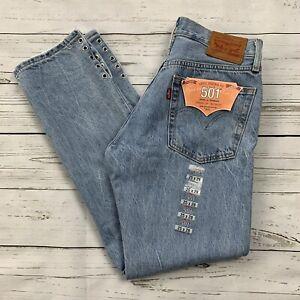 c35fd1a0ca2 Levis Womens 501 Crop Detail Jeans 25 x 28 Eyelets Eye For An Eye ...