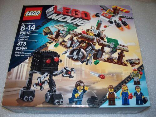 New // Sealed set LEGO 70812 The Lego Movie CREATIVE AMBUSH