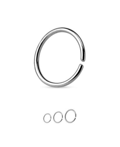 316L Surgical Steel Seamless Continuous Annealed Nose Ring Hoop