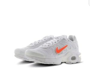 Detalles de Nike Air Max Plus Tn (BG) Juventud Zapatillas para mujer UK 3  EU 35.5 CQ7514-100- ver título original