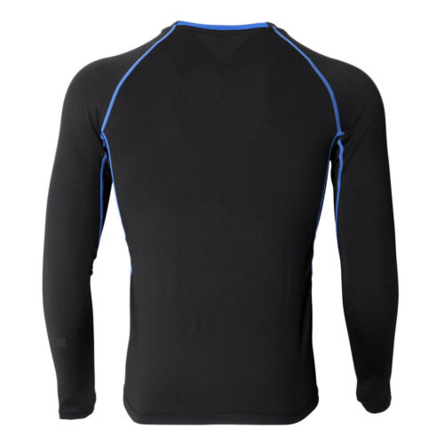 Men/'s Compression Under Base Top Long Sleeves Jerseys Sports Yoga T-shirts