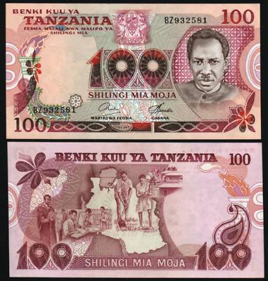 Nyerere reprint//p36b UNC Tanzania 1000 Shillings 2006