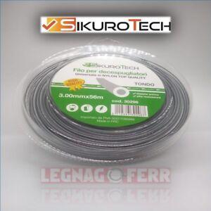 Filo-Decespugliatore-Tondo-3-0-MM-In-Nylon-Bobina-56-Metri-Anti-Rottura