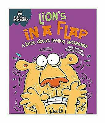 Lions in a Flap - A book about feeling worried: Big Book (Behaviour Matters), Gr