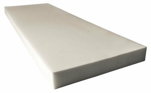 """24/"""" Wide x 72/"""" Long Dry Fast Reticulated Foam Sheets Upholstery Foam 6/"""" Thick"""