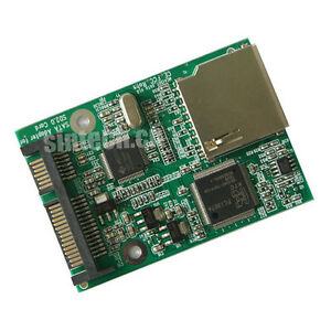SD//SDHC//Micro SD TF Flash Card to ZIF Reader Adapter as SSD