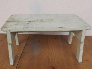 Old-White-Schemmel-Wood-Stool-Restoration-Object