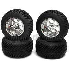 """Orion Street Sweeper Truck Tires Front & Rear Mounted Tires for 2.2"""" Losi"""