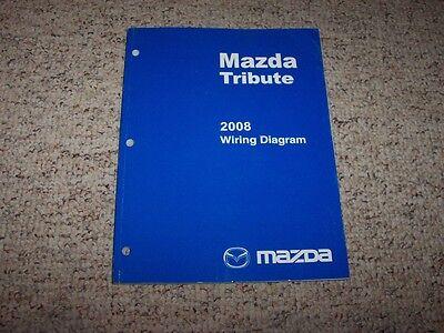 2008 Mazda Tribute Factory Original Electrical Wiring ...