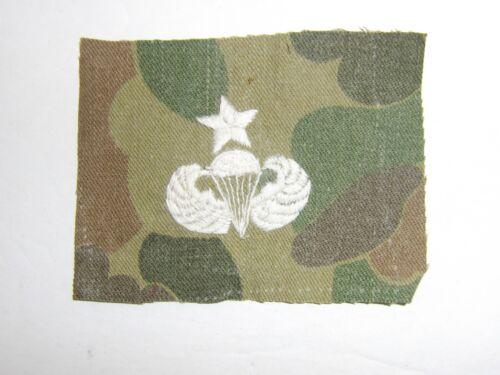 b9977 Vietnam US Army Senior Parachute Jump Wing Duck Hunter Camouflage wh IR13B