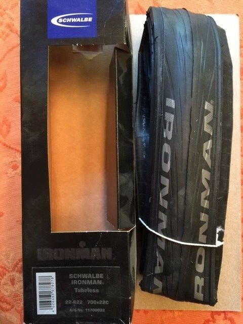 SCHWALBE IRONMAN 700X22 EVO TUBELESS ROAD BIKE TIRE (MSRP  87)