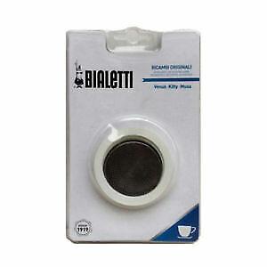 Filtersieb Gummidichtungen für 4 Espressotassen Espressokocher 3-tlg BIALETTI