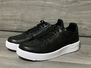 Details about Nike Air Force 1 Ultraforce Black Leather Men's Size 10.5  845052-001 Rare