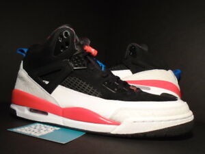 wholesale dealer ea271 8df4d Image is loading 2010-Nike-Air-Jordan-SPIZIKE-BLACK-WHITE-INFRARED-