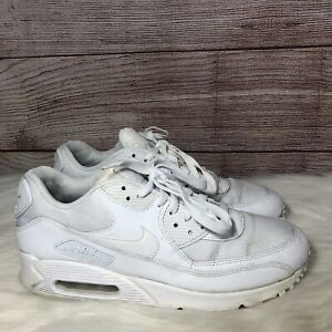 Nike-Air-Max-90-Essential-Triple-White-Running-Shoes-Men-s-Size-10-5-537384-111