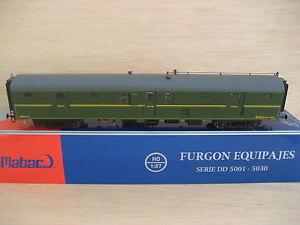 HO-Mabar-ref-85005-Furgon-equipajes-RENFE-DD-5021-ep-III