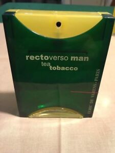 Vintage Rectoverso man tea tobacco- ULRIC DE VARENS-PARIS, USED | eBay