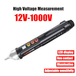 AC//DC Electric Test Pencil 12V//48V-1000V Voltage Sensitivity Electric Compact Pe