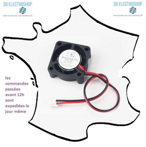 ventilateur 25x25mm 2510s 24V 0.06A