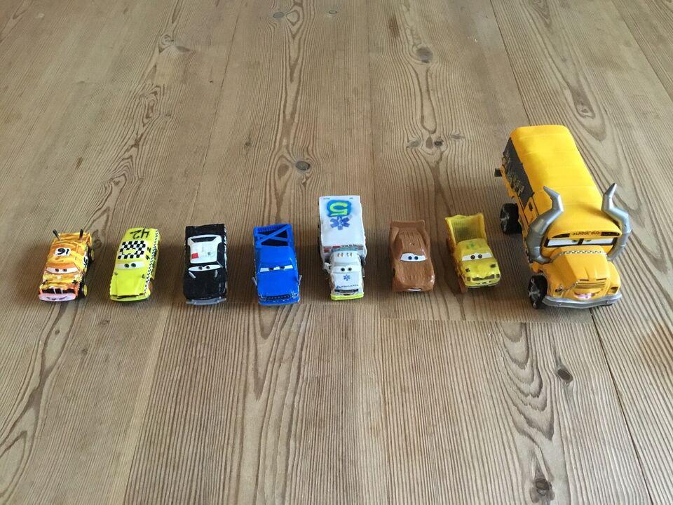 Biler og bane, Disney cars 3