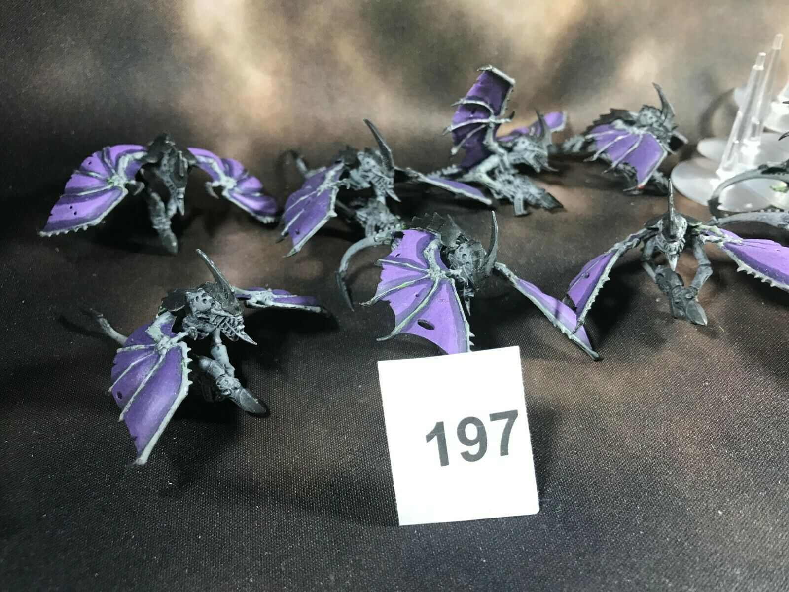 Warhammer 40k Tyranids Genestealer Cult Gargoyles Painted