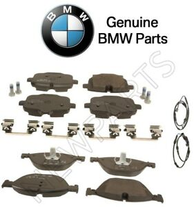 NEW For BMW F06 F10 550i 650i xDrive Front /& Rear Disc Brake Pad Set Ate Ceramic