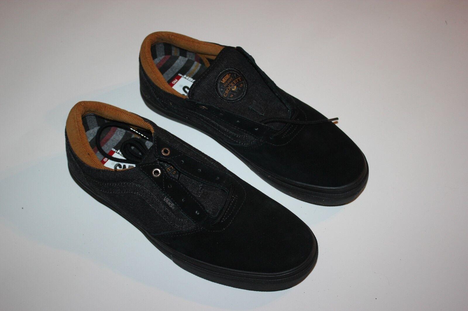 pennino pennino pennino furgoni gilbert crockett (jeans nero / black pattinare scarpe mens dimensioni 7 ff3bfe