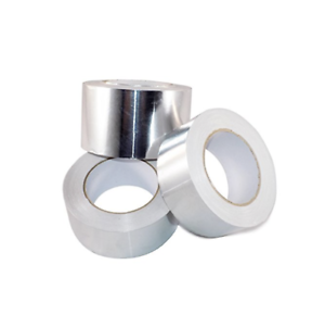 Pack of 12 AF Heat Shield Resistant Aluminum Foil Tape HVAC T.R.U 4in x 50yds