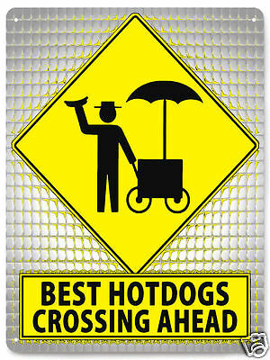 FUNNY hot dog METAL sign USA great gift patriotic VINTAGE style wall decor 338