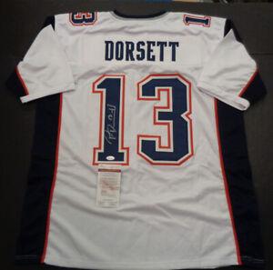 Phillip Dorsett Autographed Custom New England Patriots Style ...