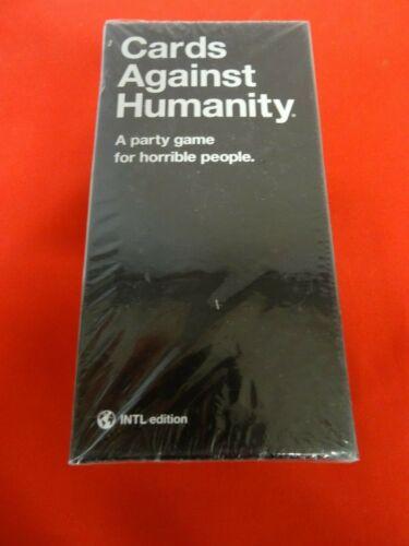 VERSION UK OU INTERNATIONAL CARDS AGAINST HUMANITY JEU DE CARTES