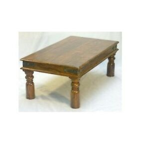 Mercers furniture indian jali 110cm x 60cm coffee table ebay for Coffee table 60cm