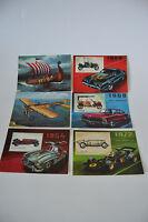 6 Stück Original DDR Postkarten Grußkarten Oldtimer A5