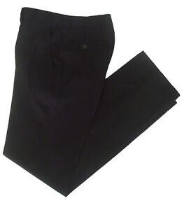 Pantalones-vestir-de-Forecast-negro-talla-46