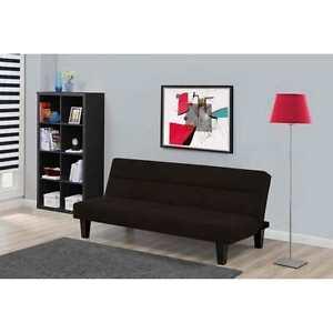 Charmant Image Is Loading Kebo Futon Sofa Bed Black