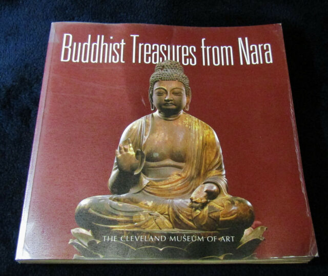 Japan BUDDHIST TREASURES FROM NARA Japanese Art 1998 Oversize Softcover FLAW