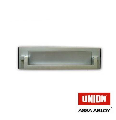 Lettre de l/'Union plaque lettre boîte avec knocker en Satin Aluminium-Nouveau