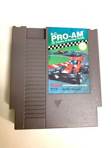 RC Pro-Am - Original Nintendo NES Game Authentic Tested + Working!