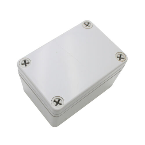 1x Plastic Junction Box Waterproof Electrical Box ABS Material Case 95x65x55mm