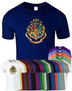 Harry-Potter-mortellement-Kids-T-shirt-Hogwarts-House-Crest-Decoration-Cadeau-T-Shirt