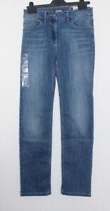 Ladies M/&S Denim Sizes 8 10 12 14 16 22 High Rise Straight Ankle Grazer Jeans