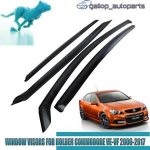 Weather-Shields-for-Holden-Commodore-VE-VF-Sedan-Rain-Sun-Vent-Window-Visor