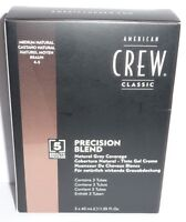 American Crew Precision Blend Natural Grey Coverage. 3x40ml (22,08€/100ml)
