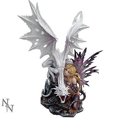 Nemesis Now  Fairies - Aarya Dragon Guardian - 59cm - D0131A3 - New
