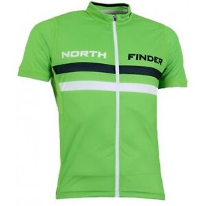 Men-039-s-cycling-jersey-Northfinder-Jaxon-TR-3071SII-Green-Mens-Small-box7476-H