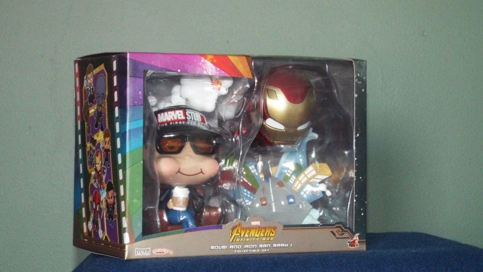 Hot Toys Avengers Infinity War* Movbi & Iron Man Mark L Cosbaby*