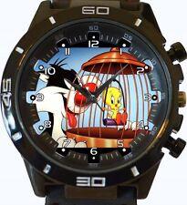 Tweety Vs Cat New Gt Series Sports Unisex Gift Watch