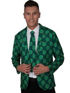 4 x Ireland St Patricks Day Shamrock Tattoo Sleeves Irish Adults Fancy Dress 041